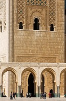 Hassan II Mosque, Casablanca, Morocco, Africa
