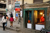 Carniceria the center of Katmandu, Nepal, Asia