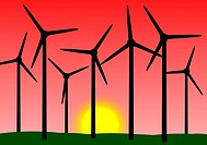 Windpower illustration