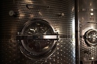 Wine vats close_up