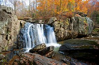 Harford County Maryland Falling Branch waterfall