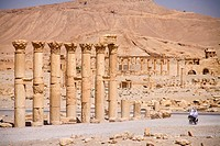 archaeological site of Palmyra, Syria, Middle East, Asia