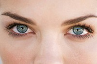 Close_up of eyes of a woman