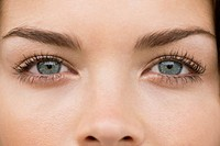 Close_up of a woman's eyes