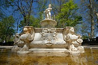Fountain in Aranjuez, Madrid
