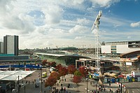 Redevelopment work around stratford station
