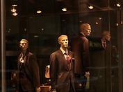 Window display of men´s wear, Toronto, Ontario, Canada