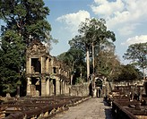 Preah Khan, dating from the late 12th century, Angkor, UNESCO World Heritage Site, Cambodia, Indochina, Southeast Asia, Asia
