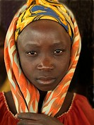 Young muslim woman, Mozambique