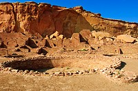Pueblo Bonito Chaco Culture National Historical Park scenery, New Mexico, United States of America, North America