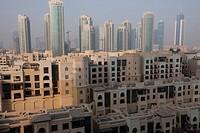 Moorish style architecture, Downtown Burj Dubai, Dubai, United Arab Emirates, Middle East