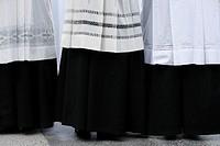 Priests´ vestment, Lourdes, Hautes Pyrenees, France, Europe