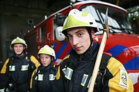 Youth fire brigade in Holland gives teenagers a change to become familiar with fire fighting  Most of them will continue working as a fire fighter whe...