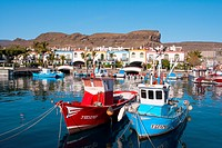 Spain _ Canary Islands _ Gran Canaria _ West Coast _ Puerto de Mogan