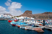 Spain _ Canary Islands _ Gran Canaria _ Agaete _ Puerto de las Nieves
