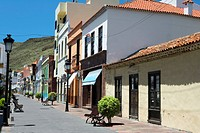 Spain _ Canary Islands _ La Gomera _ San Sebastian de La Gomera _ Calle Real