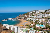 Spain _ Canary Islands _ Gran Canaria _ South Coast _ Playa de Puerto Rico