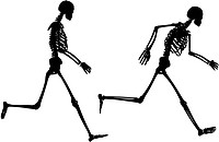 Running skeletons