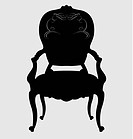 Antique Louis style chair