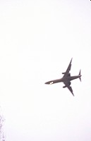 Airplane Flying Overhead