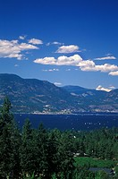 South Mission & Kelowna along Okanagan Lake, British Columbia, Canada