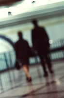 Corporate Professionals Walking Together