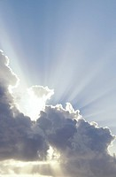 Clouds with Sunbeams