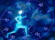 Runner & clock