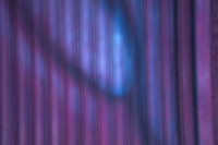 Close_up of a purple drape