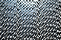 Close_up of a metal fence