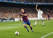 Barcelona, Camp Nou Stadium, 29/09/2009, UEFA Champions League, FC Barcelona vs. FC Dynamo Kyiv, Leo Messi