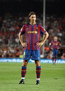 Zlatan Ibrahimovic, Swedish footballer, FC Barcelona, 2009
