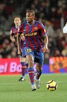 Barcelona, Camp Nou Stadium, FC Barcelona, Seydou Keita, 2010