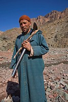 In the Valee des Aït Bouguemez, Central High Atlas, Morocco.