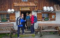 Mountain walking in the Gasteiner Alps, Hohe Tauern, Austria.