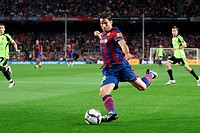 Barcelona, Camp Nou Stadium, 25/10/2009, Spanish League, FC Barcelona vs. Real Zaragoza, Maxwell