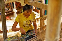 By women's crafts Laotians are: cotton spinning, weaving, embroidery, weaving of rice straw, the manufacture of shoes and pottery  Almost all craft di...