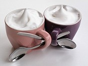 Cappuccinos intertwined