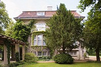 europe, germany, brandenburg, potsdam, villa where josif stalin lived in 1945 in the course of the potsdam conference