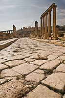 Roman ruins of Jerash, Jordan, Asia