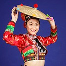 the woman the Bai nationality