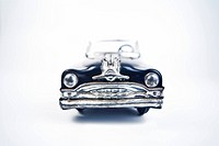old tin toy model car