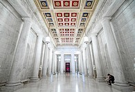 The halls of the United States Supreme Court located in Washington, D C