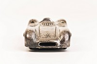 Old metal toy car, Mercedes Formula 1 50