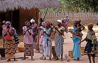 Villagers,Senegal