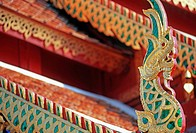 Detail of a roof, Wat Doi Suthep,Chiang Mai,Thailand