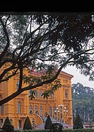 Old presidential palace in Hanoi, splendid colonial residence going back to 1906, was formerly the residence of the general governor of Indo_China,Vie...