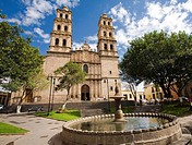 Church of San José. Morelia. Michoacan State. Mexico.