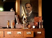 Office of Sir William Osler July 12, 1849 _ December 29, 1919, Canadian physician described as the father of modern medicine.