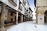 Mosqueruela village, Teruel province, Aragon, Gudar mountains, Spain
